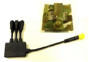 SWIPES USB 3-PORT HUB w/ POUCH
