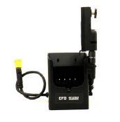 Rifleman AN/PRC 154 Charger with Auxiliary Output Cable and with Rifleman Dual Input Dual Output side connector (sidePAN)